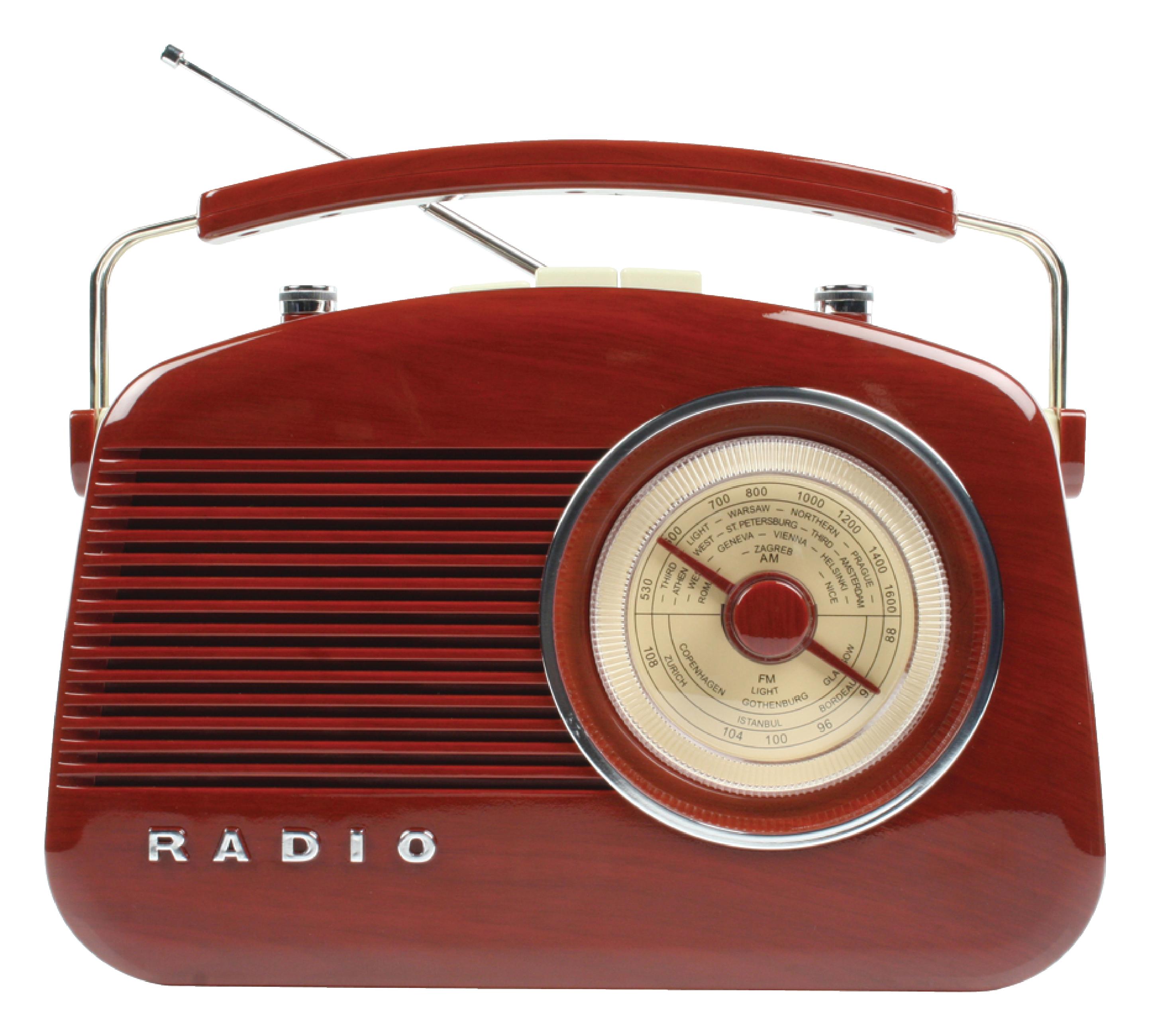 test radio vintage